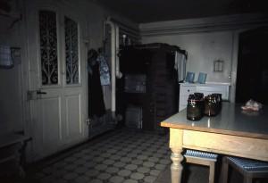 Küche mit Holzzentralheizung