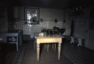 Küche, Fenster zum Kastanienbaum