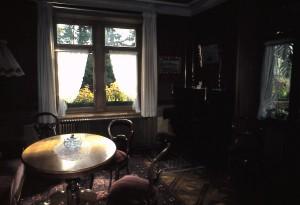 Salon, Fenster zum Garten, Brunnenplätzli