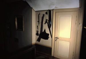Eingang in die Dunkelkammer