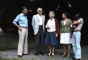 Reiner Boser, Onkel Mandy, Tante Hede, Tante Lydia, Matthias Boser