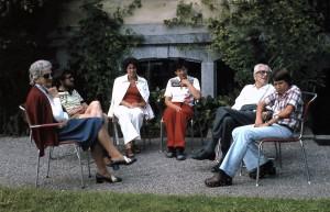Tante Hede, Werner Meyer, Erica Boser, Christa Meyer, Onkel Mandy, Matthias Boser